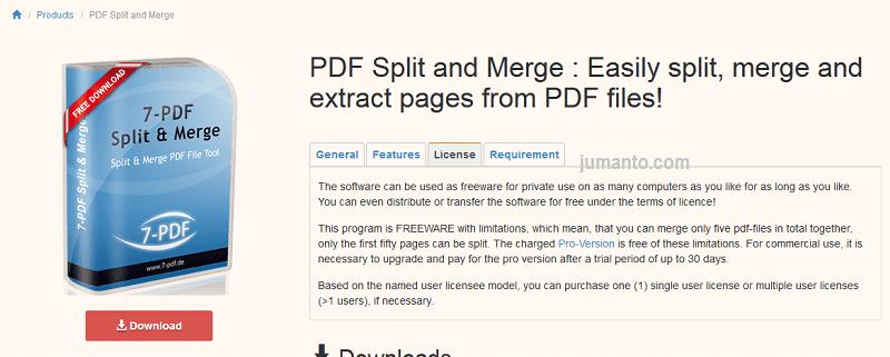 aplikasi untuk menyatukan file pdf yang terpisah