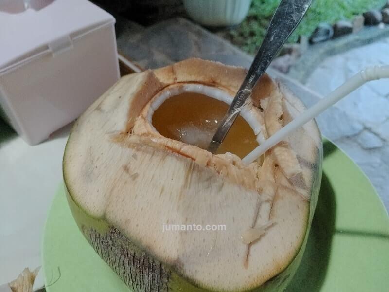 es kelapa jeruk pindang uwo