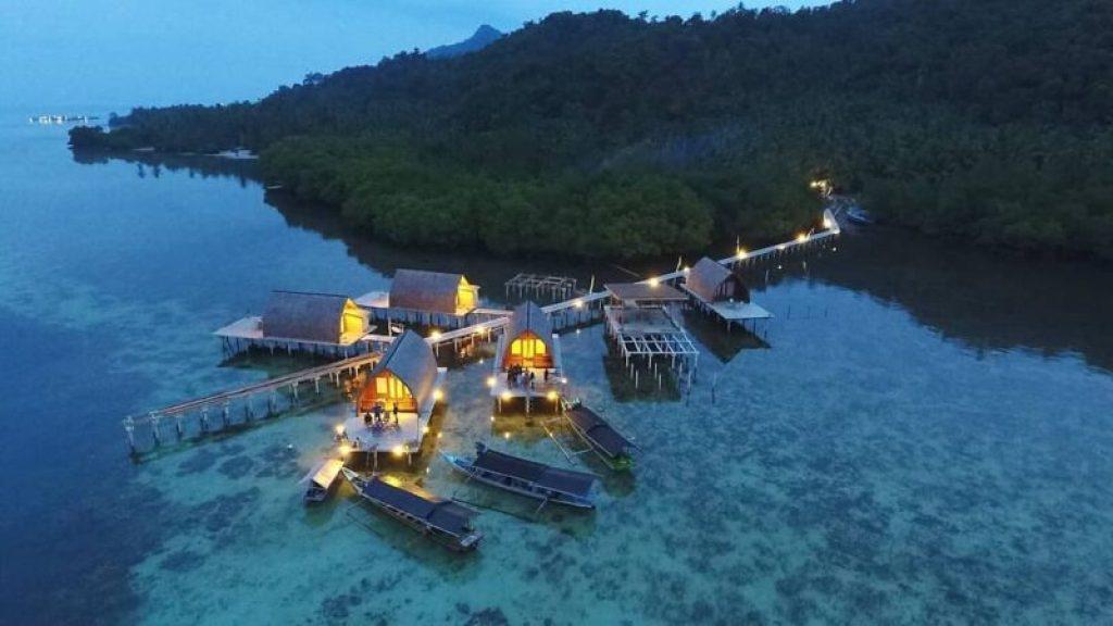 foto villa lombok pahawang