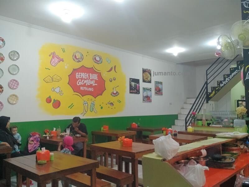 lokasi ayam geprek babe gembul kemiling