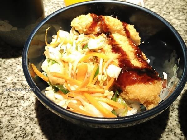 review restoran jepang ichiban sushi lampung