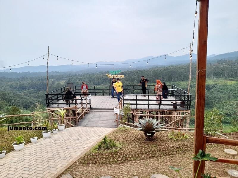 spot foto di kampung vietnam lampung