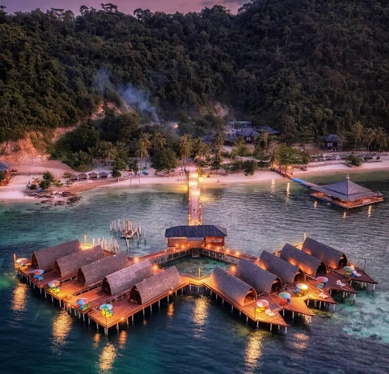 foto pulau tegal mas lampung