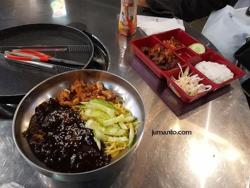 Icip Icip Makanan Ala Korea Di MBK Bandar Lampung