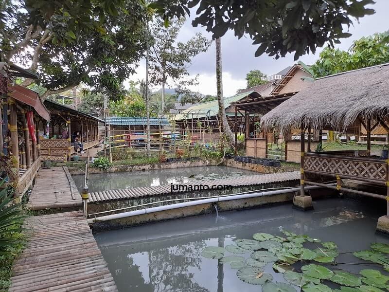 kolam ikan saung agrowisata kemiling