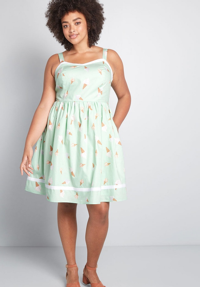 Green Plus Size Dresses for Women - The Perfect Green Dresses -