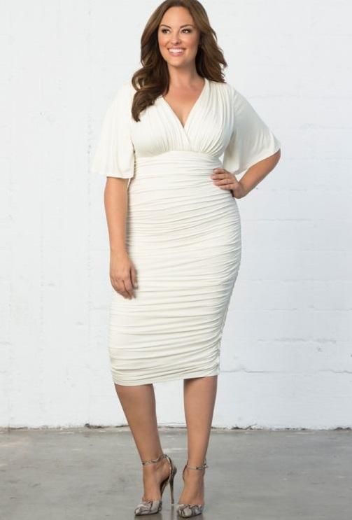 Plus Size White Party Dress |The Perfect White Part Dresses ...
