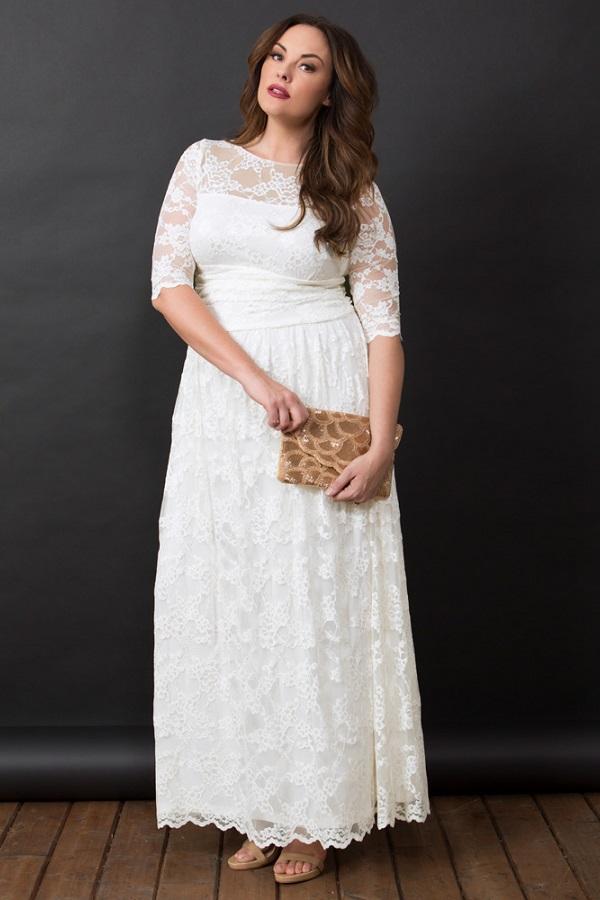 Plus Size White Maxi Dresses. All White Plus Size Maxi Dresses -