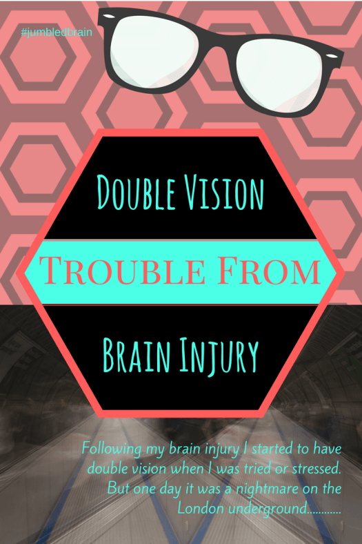 My brain injury caused me to start having double vision. But why?