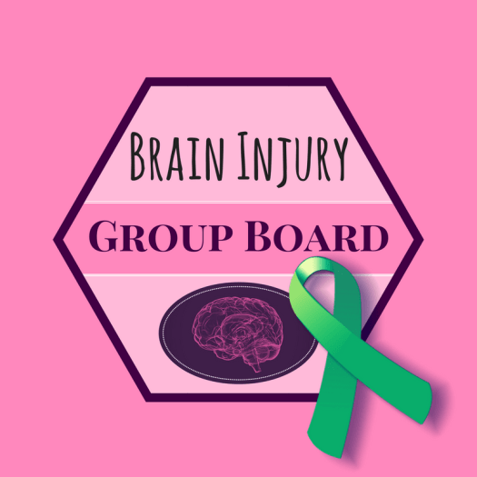 The Pinterest group for brain injury bloggers articles.