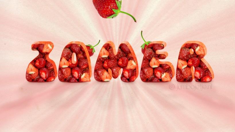 aardbeien tekst