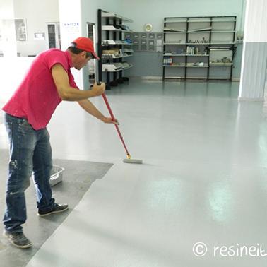Garage paint 100 epoxy RESINE PER PAVIMENTI