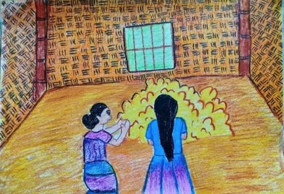 মেছো আর তার মা সোনা দেখতে পেলো