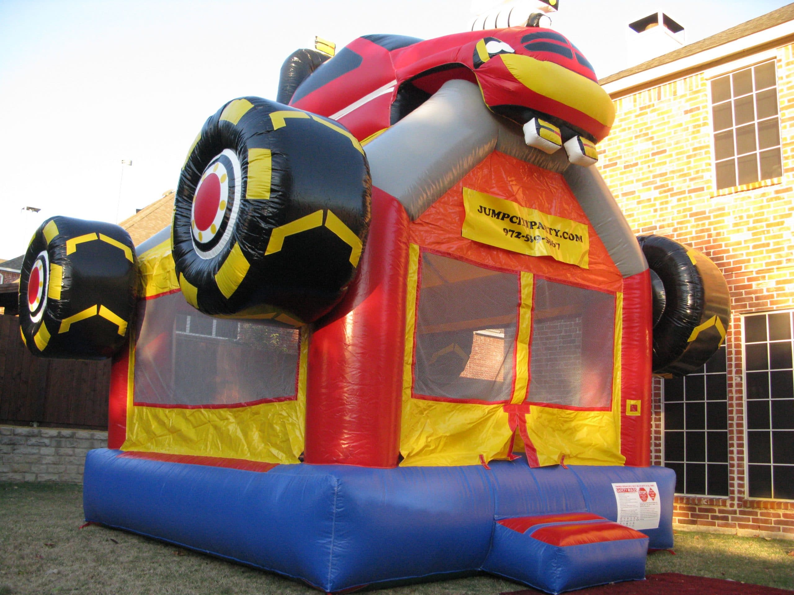 bouncy chair weight limit oversized comfy monster truck bounce house jump houses dallas