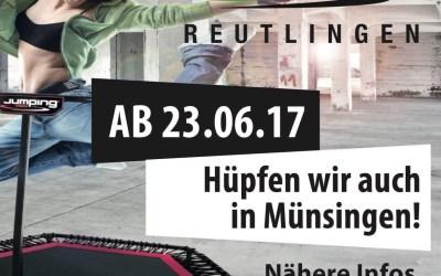 NEU ab 23.6 auch in Münsingen