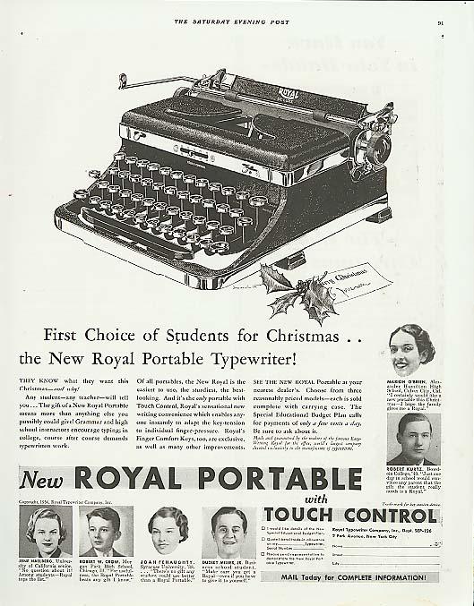 Ads-Typewriters