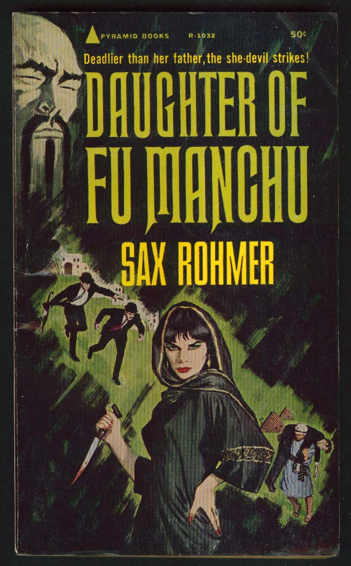 Daughter of Fu Manchu Sax Rohmer