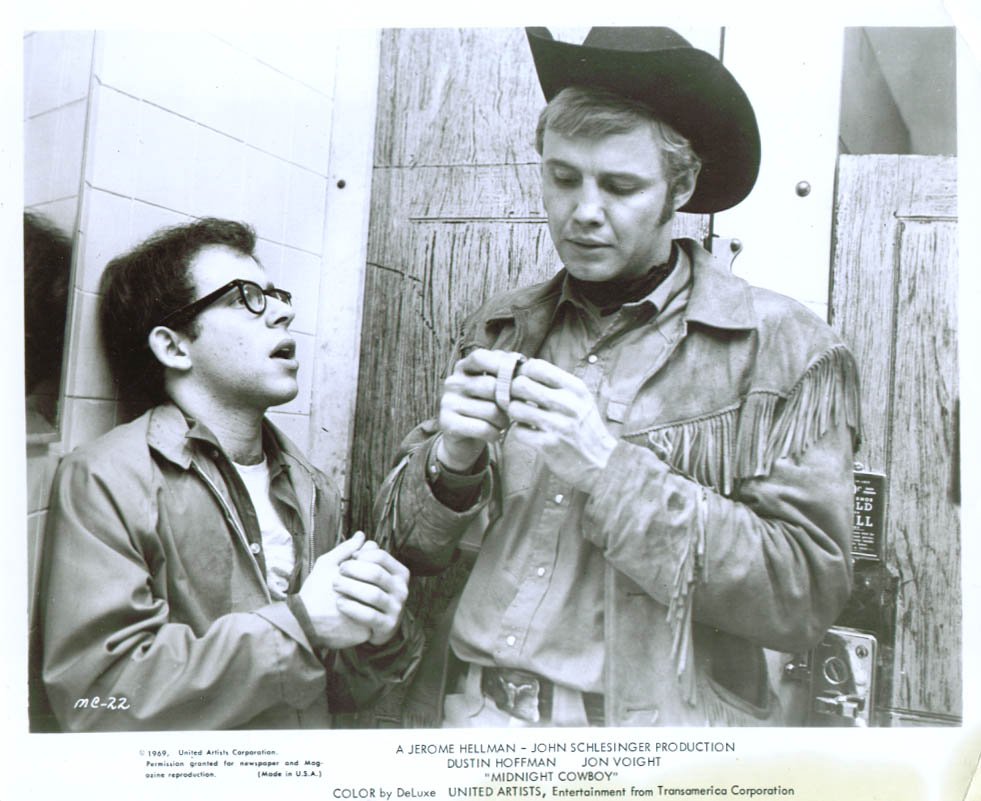 Bob Balaban Jon Voight Midnight Cowboy 8x10 1969