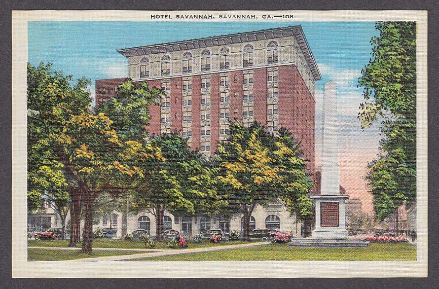 Image result for savannah post card