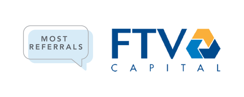 Infographic Text bubble and FTV Capital logo