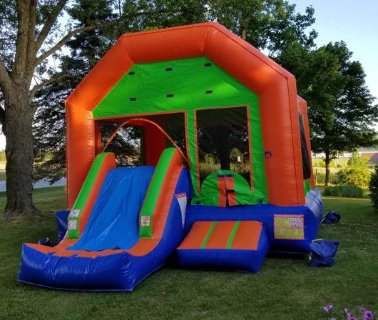 Inflatable Bounce House Slide Combo