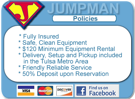 Jumpman Rental Policies