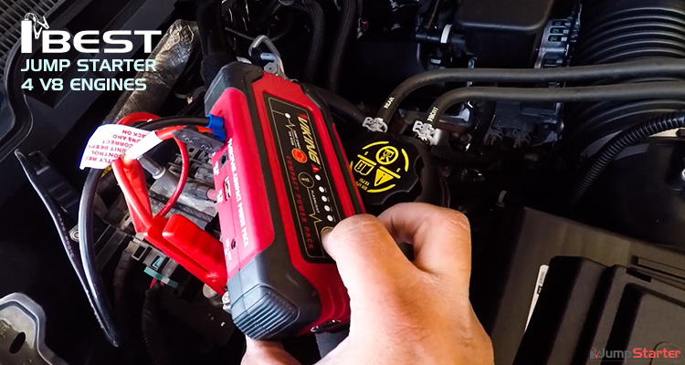 Best Jump Starter for V8 Engines