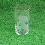サンドブラストのグラス