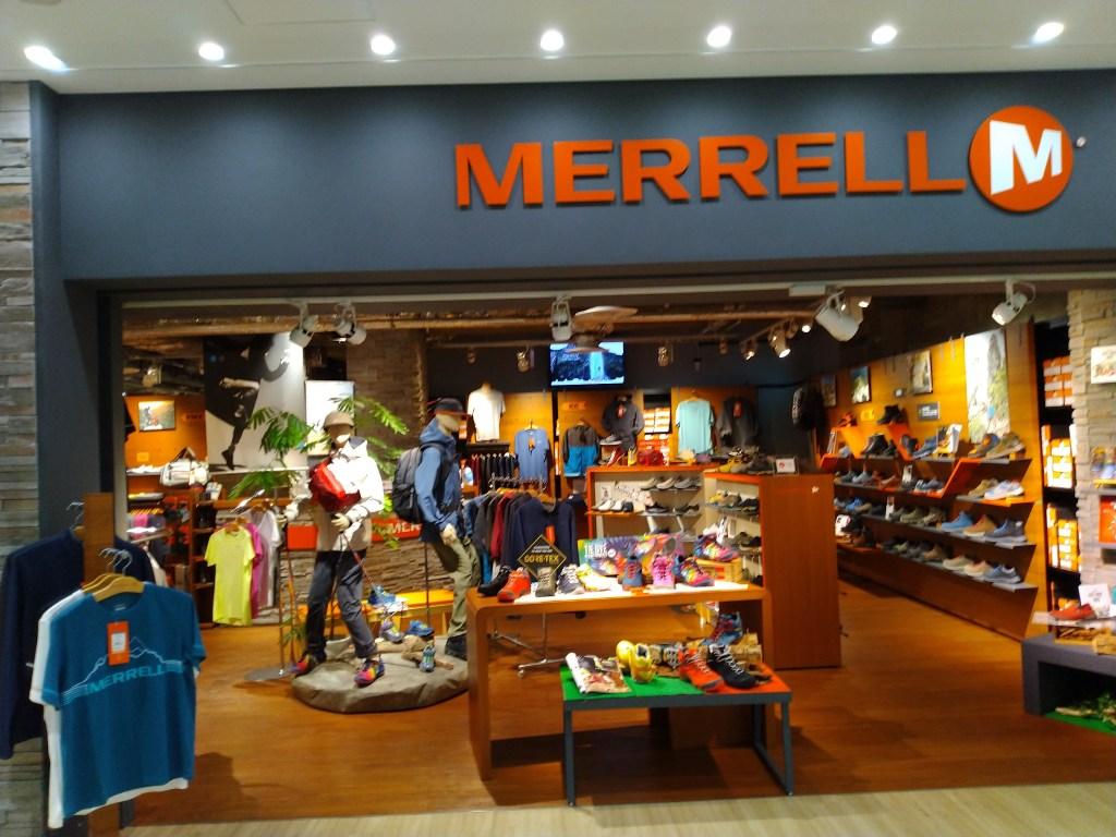 メレル正規販売店