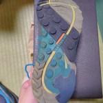 ボロボロに履きつぶしたメレルの靴