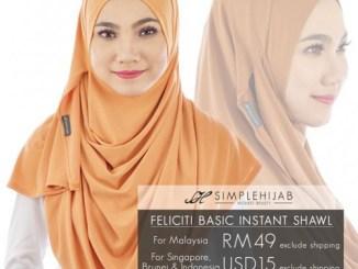 Feliciti Basic Simple Hijab
