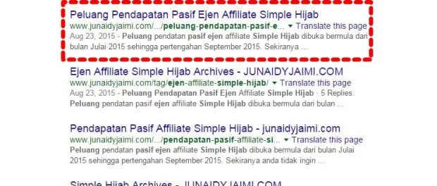 Review Pendaftaran Ejen Affiliate Simple Hijab