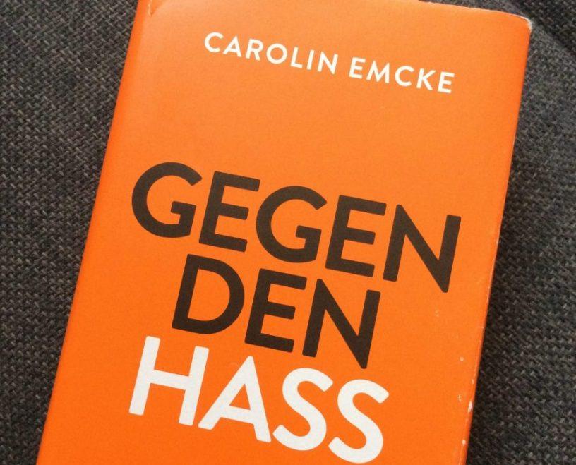 """Hier ist das Cover des Buches """"gegen den Hass"""" von Carolin Emcke zu sehen."""