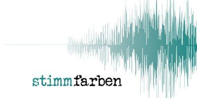 Logo Stimmfarben von Dirk Welz