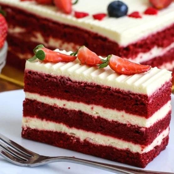 Red Velvet Cake Cheesecake Shop