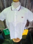 【 FRED PERRY ポロ衿シャツ & 鹿の子カーデ 】