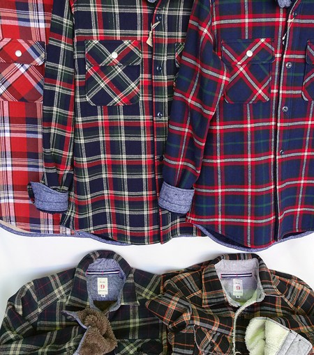 【 Mil-Spec 裏ボアCheck Shirts 】