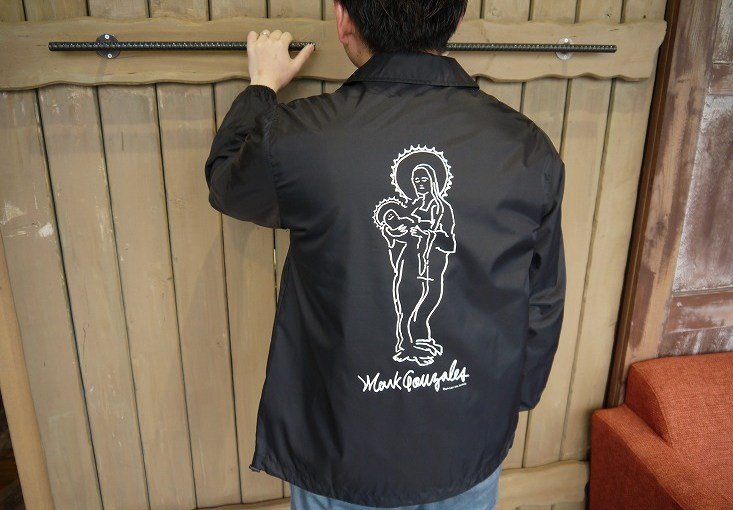 【MARK GONZALES NYLON COACH JACKET】