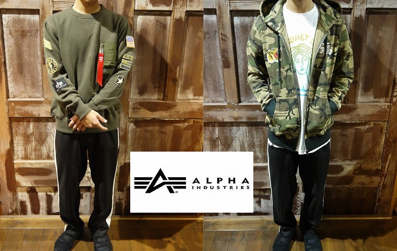 【ALPHA INDUSTRIES 新作入荷♪】