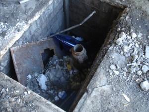 a pit