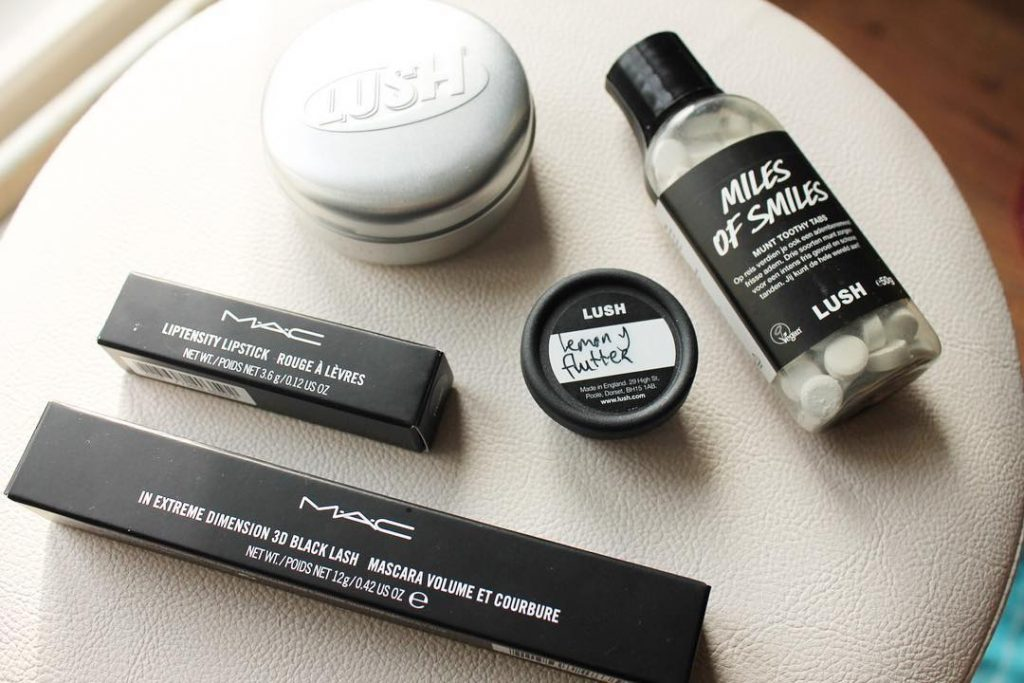 shoplog lush & mac