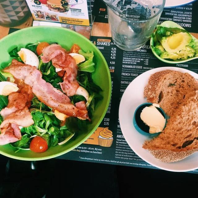 BLT salad theblueberry033