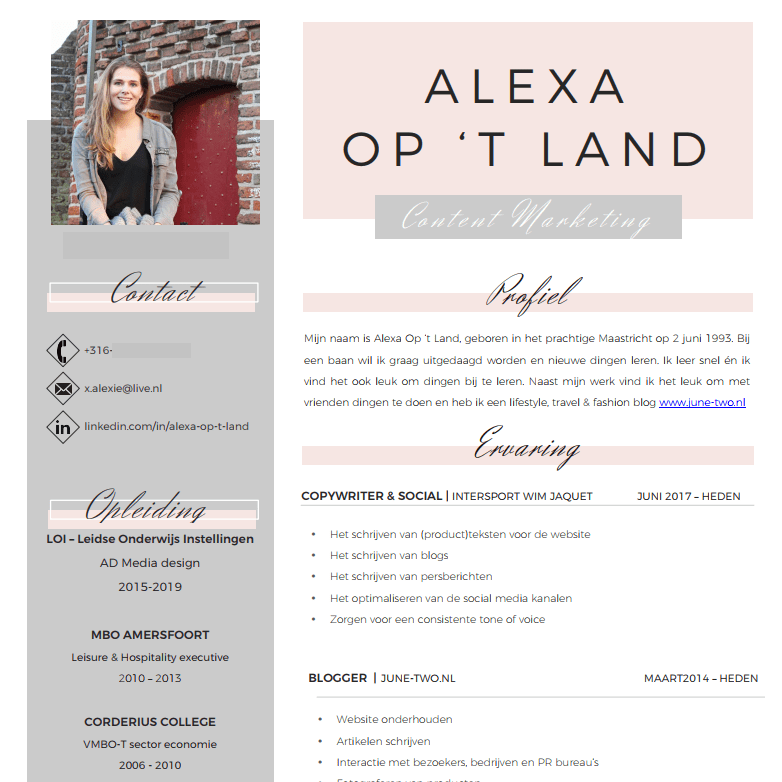 Het perfecte CV maak je gemakkelijk zelf!