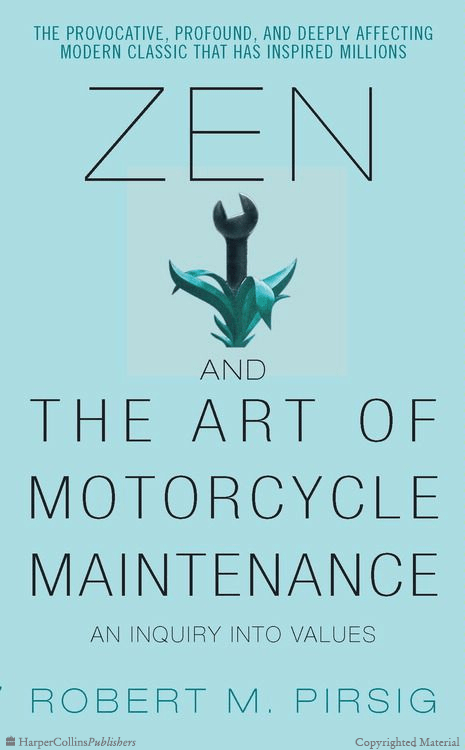 Image result for Zen and the Art of Motorcycle Maintenance