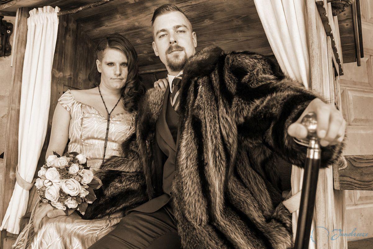 Hochzeit von Weltenbummlern
