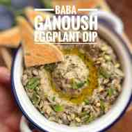 Baba Ganoush Recipe (Roasted Eggplant Dip)