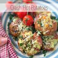 Easy Crash Hot Potatoes with Cheese