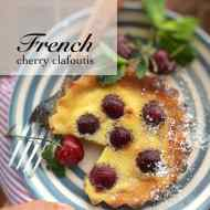 Cherry Clafoutis Recipe (French Dessert)