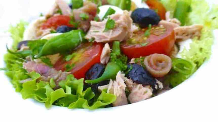 Easy Nicoise Salad Recipe French Tuna Salad Simple Tasty Good