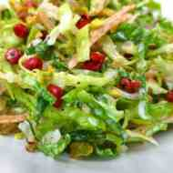 Easy Savoy Cabbage Salad Recipe